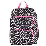 JanSport Big Student Classics Series Backpack - Grey Tar Wild At Heart