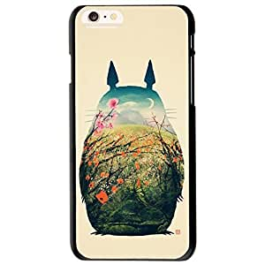 "Funny Totoro ~ Personalized Custom Beauty Diy Smooth Surface Durable Tpu Rubber Silicone Case Cover Skin Unique iphone 6 Case ~ (iPhone 6, 4.7"" inch Case)"