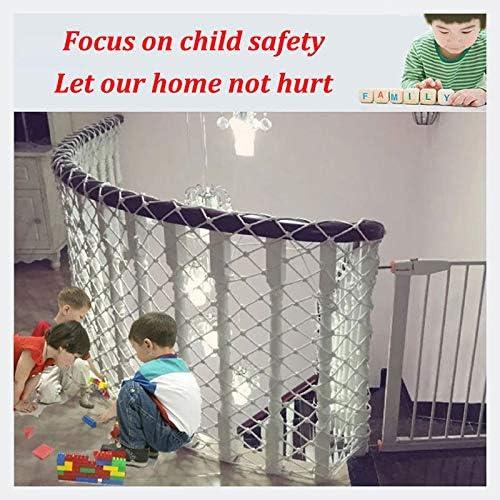 Red De Seguridad, Escalera De Seguridad Para Niños Balcón Protección Resistente A Las Roturas Aislamiento Del Edificio Red De Protección Del Sitio Grande Red De Jardín De Carga Escalada Decoración Red: Amazon.es: