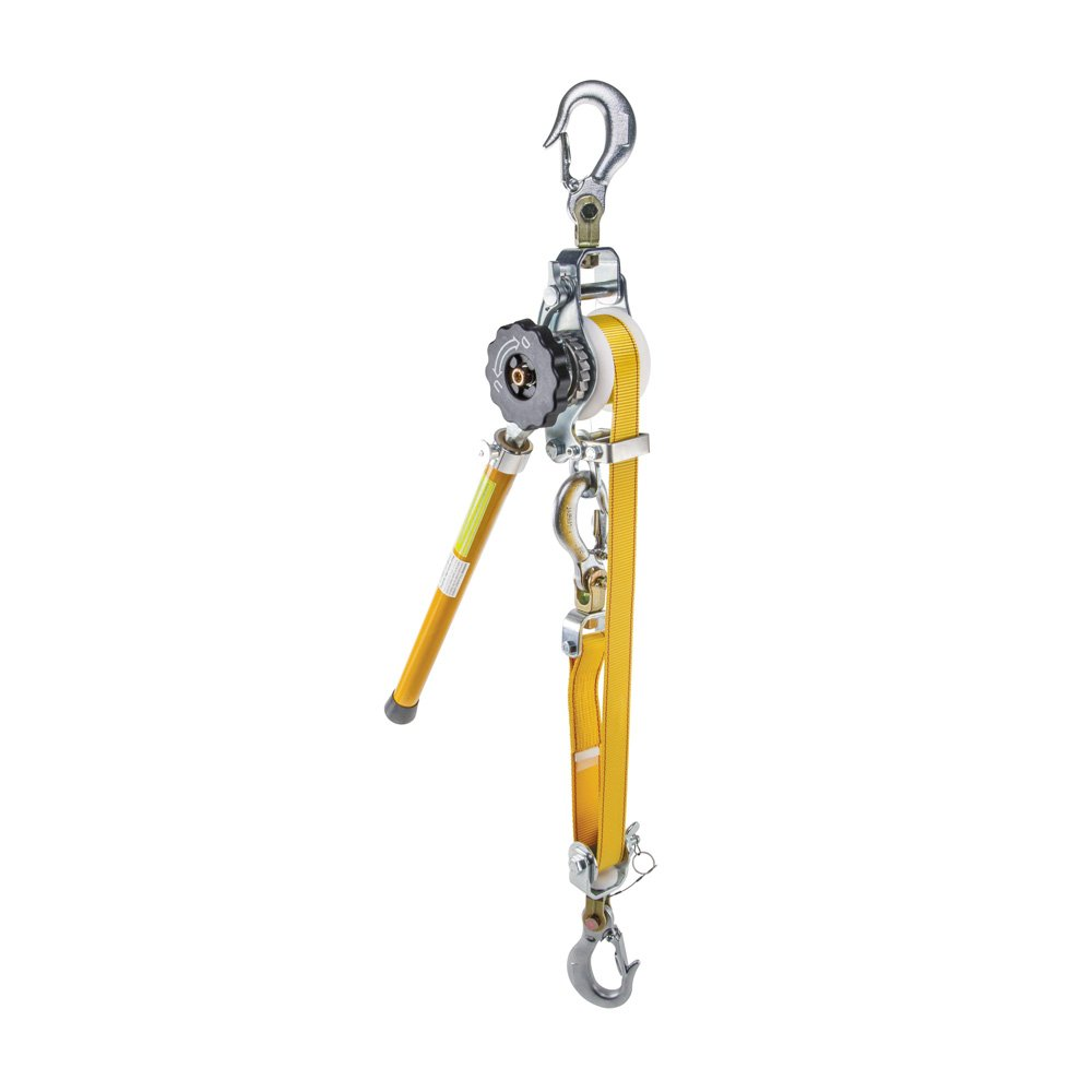 Klein Tools KN1600PEX Deluxe Web-Strap Hoist with Removable Handle