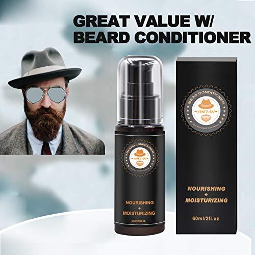 Upgraded Beard Grooming Kit w/Beard Conditioner,Beard Oil,Beard Balm,Beard Brush,Beard Shampoo/Wash,Beard Comb,Beard… 3