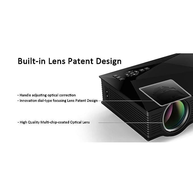 Qucking Light Proyector Doméstico, Proyectores, UC46 + Proyector ...