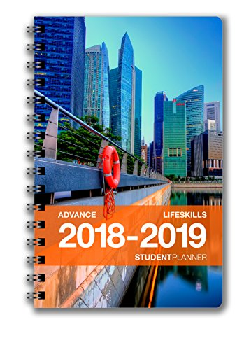 Advance Student Planner (5.25 x 8.5 inches) August 2018 - July 2019 Academic Agenda - Inspiring Full Color Organizer for Goal Setting, Time Management, Study Skills & More - [Grades 9th - College]