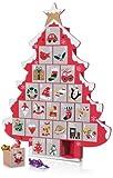 Calendrier de l'Avent Sapin de Noël en Bois - Cadeau Maestro