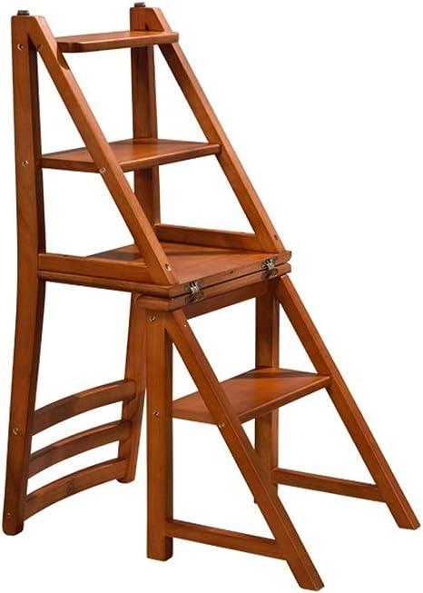 Zapatos Taburete de Asiento Escalera de Almacenamiento Taburete/Escaleras de Tijera Taburete de Paso Silla de Escalera para el Hogar Asientos con Escalones Escalera Plegable Estante Ensanchado Tabu: Amazon.es: Deportes y aire libre
