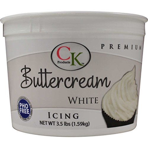 Cream Butter Frosting - CK Products 77-800 PHO Free Buttercream Icing, 3.5 lb, White
