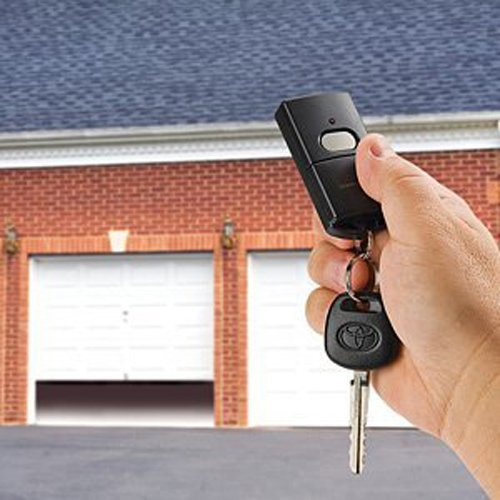 - Skylink 69P Universal Garage Door Opener 1 Button Keychain Remote Control Transmitter, compatible with multiple manufacturers of Garage Door Openers