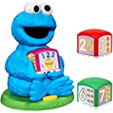 Sesame Street Cookie Monster Find & Learn Number Block