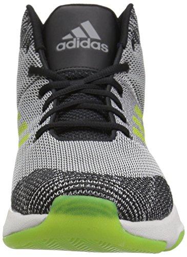 adidas Neo Herren CF-Executor Mid Basketball-Schuhe Graue Fünf / Semi Solar Gelb / Grau Zwei
