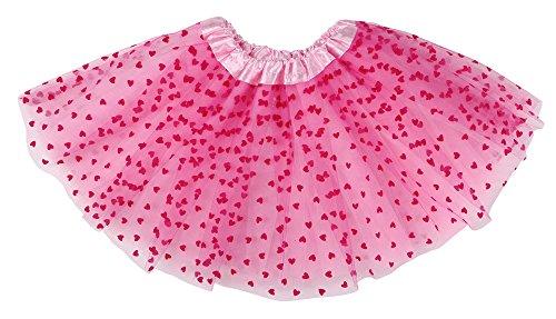Princess Tutu Ballerina (ThunderCloud Kids Princess Fairy Costume Girl's Tulle Ballerina Tutu Skirt,Pink)