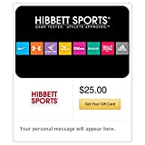 Spend $50, Get $10 Off on Hibbet Sports Email Gift Cards (HIBBET)