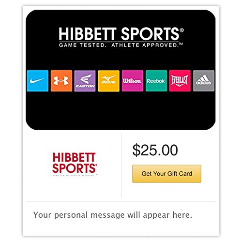 Hibbett Sports Castle Gift Cards   E Mail Delivery