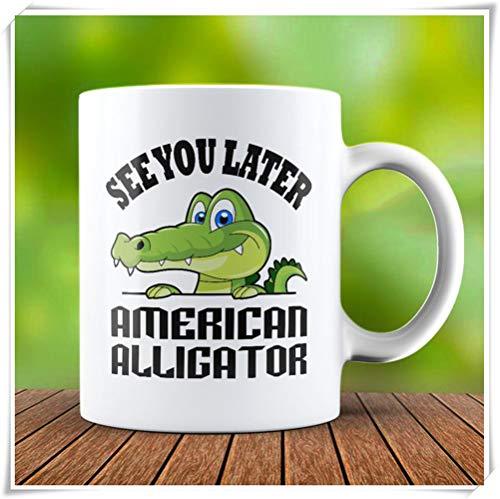 PerfectPrintedAQA - Alligator Mug - American Alligator Mug - Reptiles & Amphibians Mug - Alligator Lover Mug, 11oz Ceramic Coffee Mug/Cup/Drinkware, High Gloss