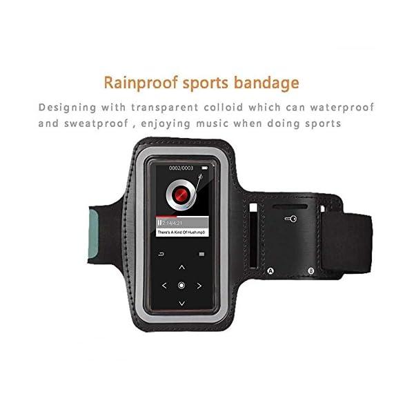 Sports Brassard de Poignet pour lecteurs MP3, résistant aux Rayures avec la Transpiration et Respirant Lecteur MP3…