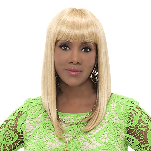 Vivica A Fox Hair Collection Yeva Synthetic Heat Resistant Fiber Pure Stretch Cap Wig, FS4/30, 14.5 Ounce