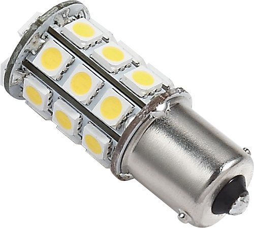 Green Value 2 x LED 25002V-02 1156/1141 Base Tower LED Replacement Bulb 250 LUM 8-30v Natural White
