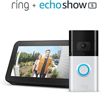 Ring Video Doorbell 3 Plus + Echo Show 5