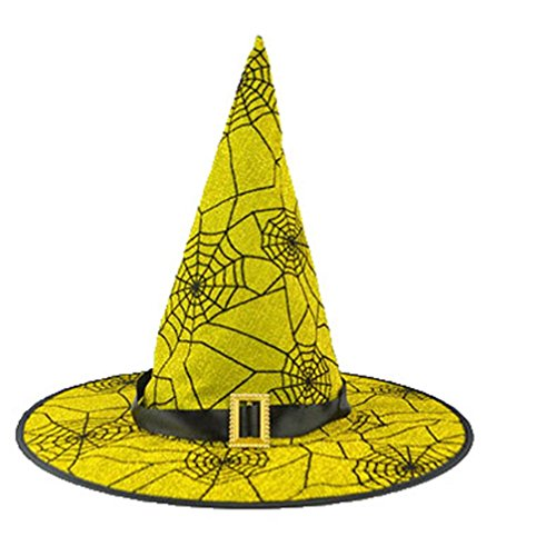 Halloween Hat, DKmagic 1Pcs Fashion Adult Womens Black Witch Hat For Halloween Costume Accessory Cap (Jack In The Box Halloween Costume Toddler)
