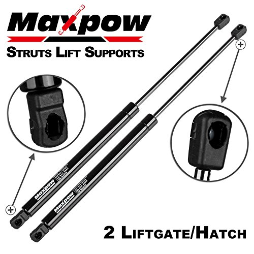 2016 Tailgate Struts - Maxpow 6451 68101213AA Compatible With Dodge Journey 2009 2010 2011 2012 2013 2014 2015 2016 Rear Hatch Tailgate Lift Support Struts 2pcs