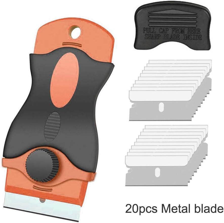 Gebildet Raspador con 20 piezas Cuchillas del Acero de CarbóN para ...