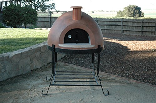 Primavera 70 Outdoor Wood Fired Pizza Oven (Red) by Forno Bravo