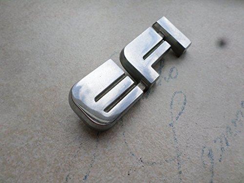 87- 91 Ford F-150 EFI Front Hood Emblem E7TB-9F768-AB Logo Nameplate Badge Script Decal Ornament