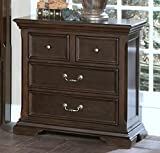 New Classic 00-007-040 Timber City Nightstand, Sable