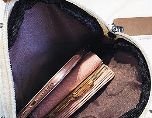 Del Oro Cosmetici Di Rrock Spalla Carino Delle Donne Pu Borsa Nero Catena Cuoio Bag Modo Quattro Messenger Colori Telefono Della Mobile tTTfSxAqw