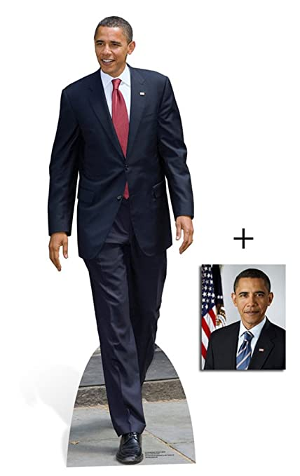 Amazon.com: FAN PACK - PRESIDENT BARACK OBAMA - LIFESIZE CARDBOARD on
