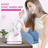 Warm Mist Facial Steamer, Villsure Nano Ionic