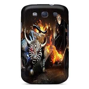 Galaxy High Quality Tpu Case/ Fire Bull YSQ572Xmzn Case Cover For Galaxy S3
