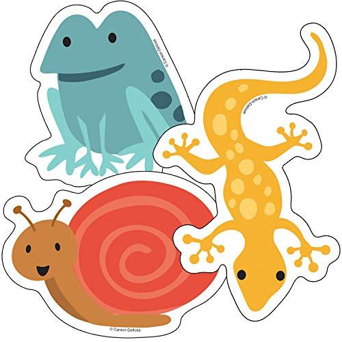 (Carson Dellosa Nature Explorers Frogs, Lizards & Snails Cut-Outs (120236))