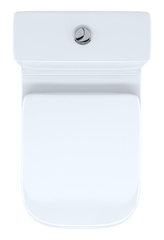 RAK Series 600 Compact Close Coupled Toilet Pan Cistern