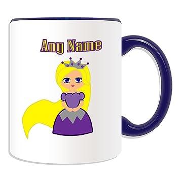 Mug Princesse Cadeau En Violet Raiponce Motif Robe Personnalisé QdxCoerBW