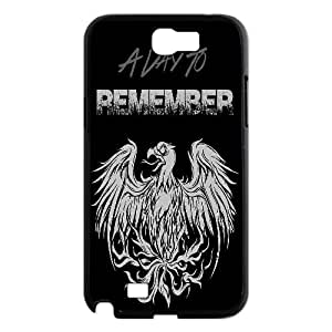 Qxhu A Day to Remember patterns Snap-on Cover Hard Carrying Case for Samsung Galaxy Note2 N7100