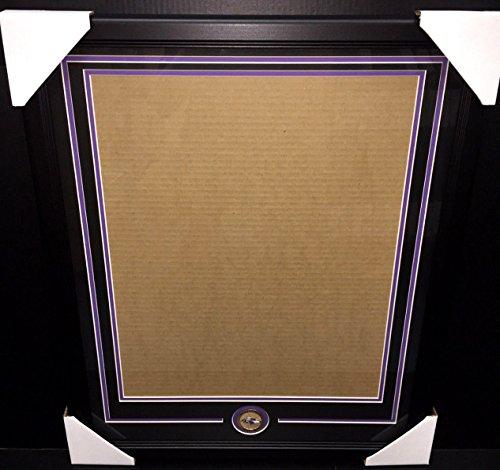 Baltimore Ravens Medallion Frame Kit 16x20 Photo Double Mat Vertical