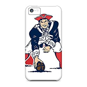 Hot Tpu Cover Case For Iphone/ 5c Case Cover Skin - New England Patriots