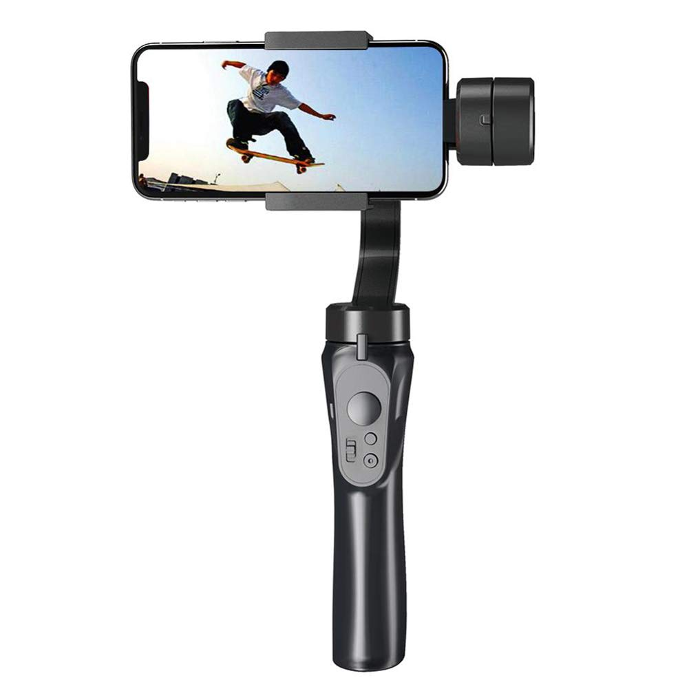 RONSHIN Automotive 3-axis Handheld Universal Stabilizer Gimbal for Camera Phone Samsung Galaxy Smartphone Travel H4 by RONSHIN