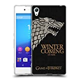Official HBO Game Of Thrones Stark House Mottos Soft Gel Case for Sony Xperia Z3+ / Z3 Plus / Z4