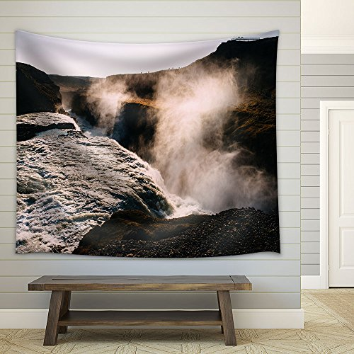 Spectacular Landscape Waterfall Fabric Wall
