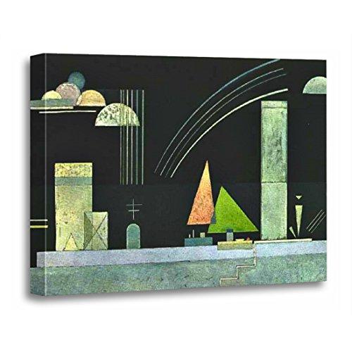 Wassily Kandinsky Artwork - TORASS Canvas Wall Art Print Abstract Kandinsky at Rest Wassily Bauhaus Expressionism Russian Artwork for Home Decor 12