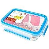 爱慕莎(emsa) 德国原装进口易鲜系列保鲜盒 晶钻耐热玻璃保鲜盒 500ml