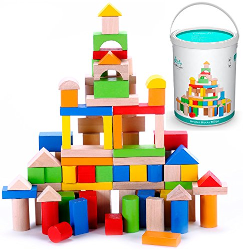 Classic Wooden Building Block Set