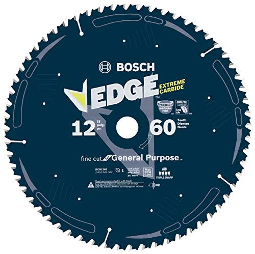 Bosch DCB1260 Daredevil 12-Inch 60-Tooth Fine Finish Circular Saw Blade