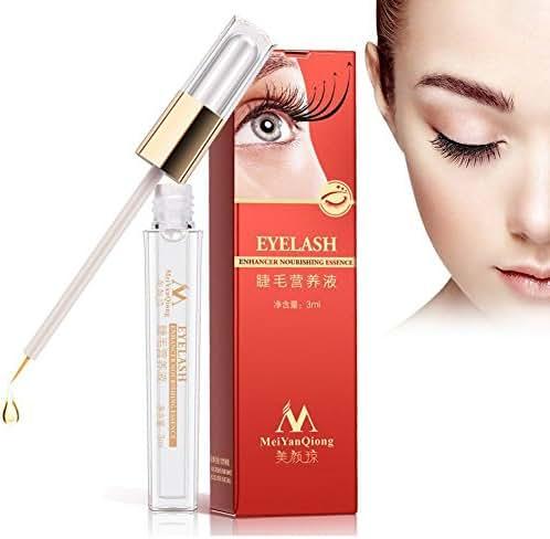 Eyelash Growth, Natural Nourishing Eyelash Enhancer Serum of Eyelash Longer & Darker
