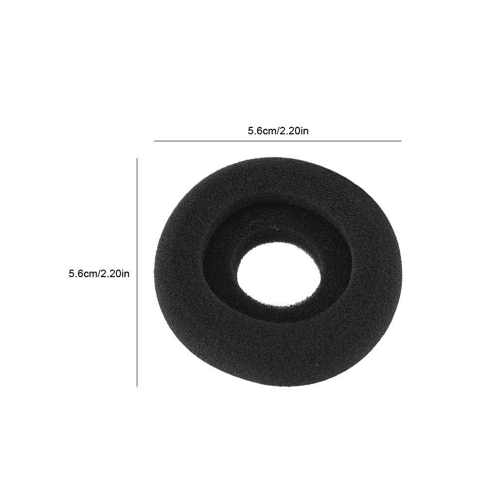 Zerone Almohadillas de Espuma para Auriculares H2525 HN251N Almohadillas para Auriculares de reemplazo Funda de Esponja para Plantronics