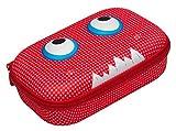 ZIPIT Beast Box Hard Shell Pencil/Storage Box, Red