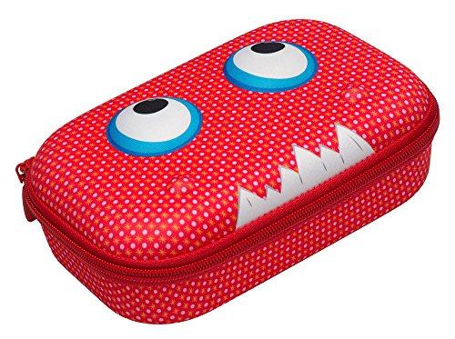 ZIPIT Beast Pencil Case/Pencil Box/Storage Box, Red (Box School Pencil)
