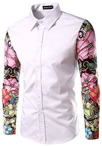 Men's Floral Dress Shirts: Amazon.com