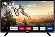 "TV Monitor Smart LED 28"" HD Philco PTV28G50SN com Wi-Fi, Netflix, Conversor Digital Integrado, Dolby Audi"